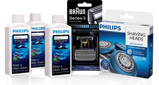 Shaving Spare Parts and Accessories