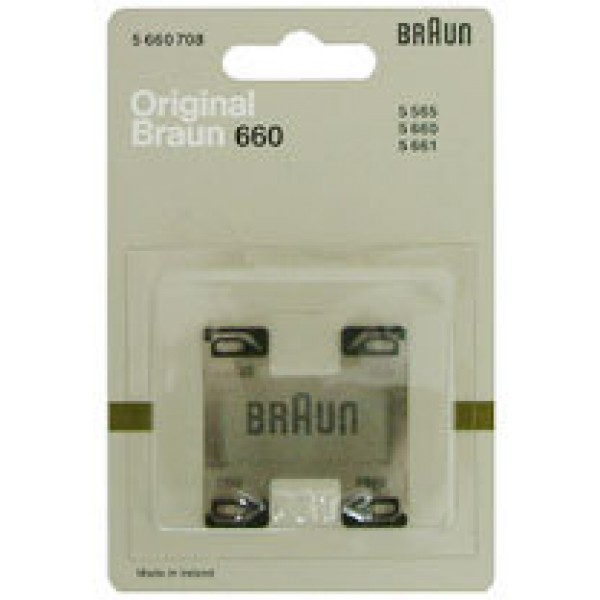 Braun Original Part 5660708 Shaver Foil for 5565,5660/1