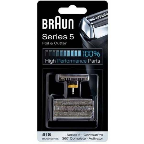 Braun 89xx 360 Complete Foil and Cutter Pack 51S