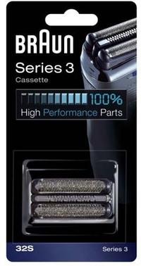 Braun 32s Silver Replacement Shaving Foil Cassette