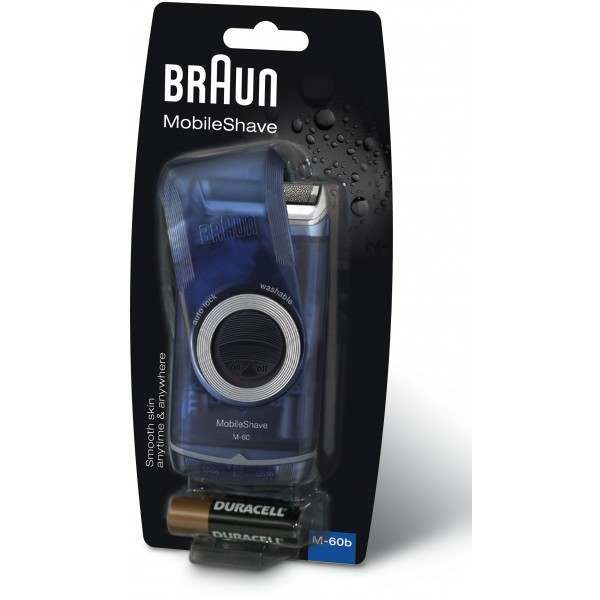 Braun M60 Travel Pocket Go Battery Shaver