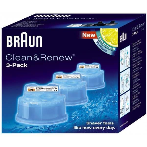 Braun CCR3 Syncro/Activator/Pulsonic Clean and Renew