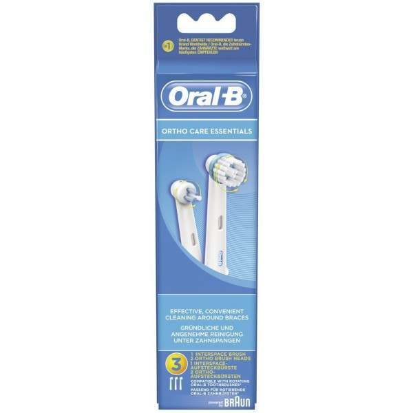Oral-B Genuine Ortho Care Essentials Replacement Heads.