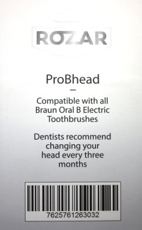 Compatible Toothbrush Replacement Braun Oral b Electronic Tooth Brush 4 Heads