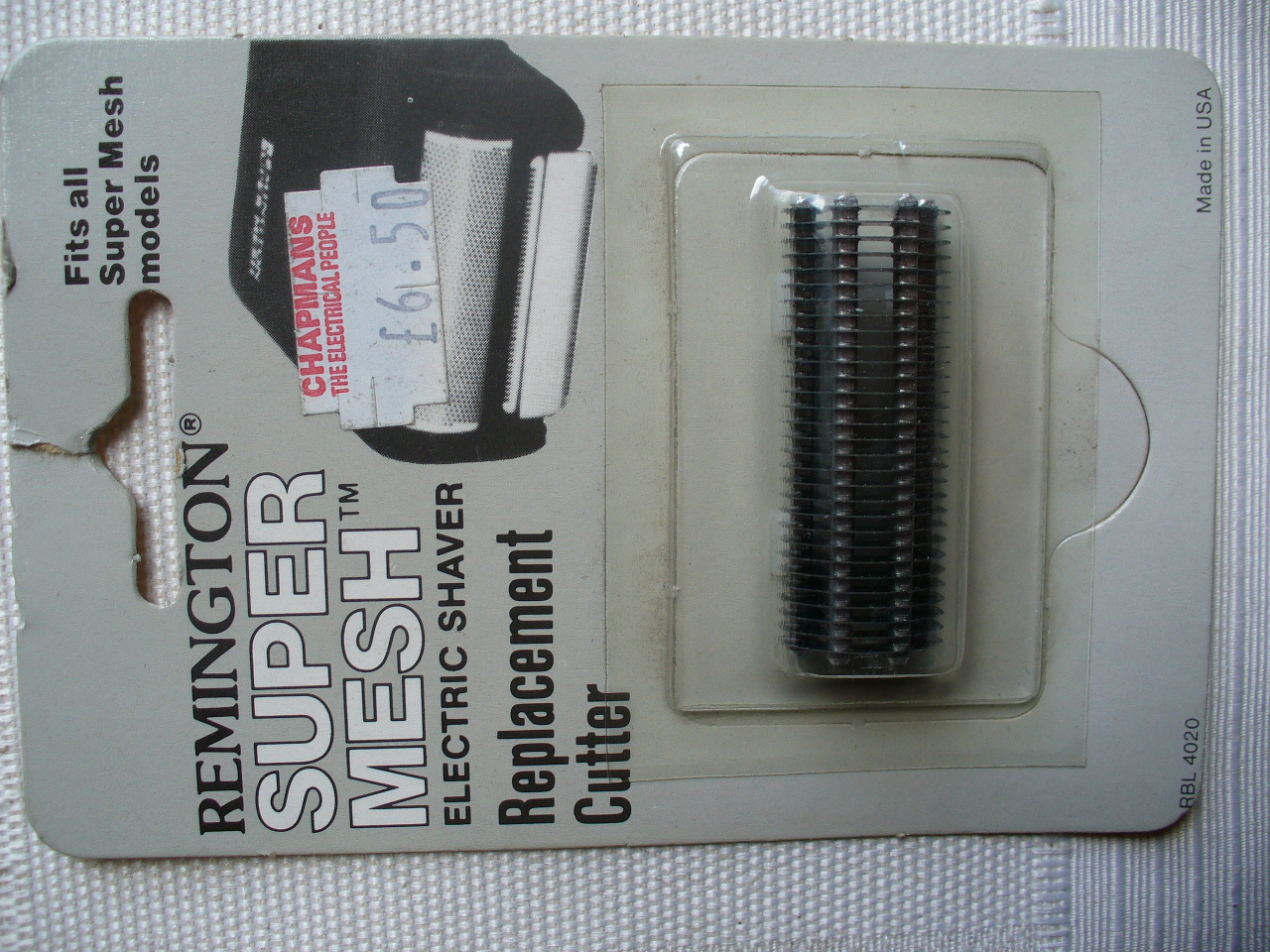 Remington RBL4020 Cutter Unit for Super Mesh Models