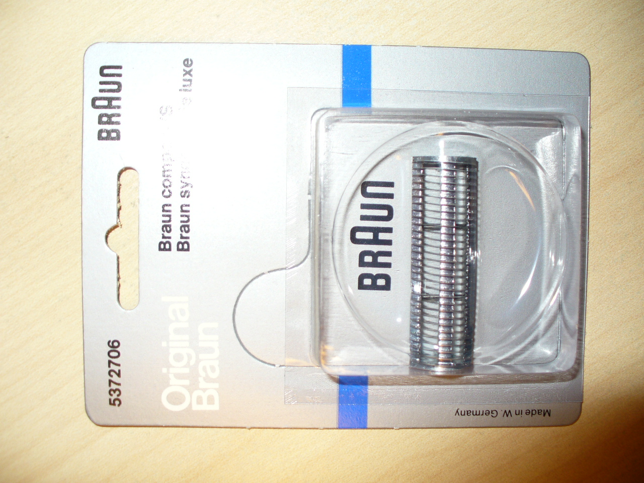 Braun Original Part 5372706 Shaver Cutter for 5372