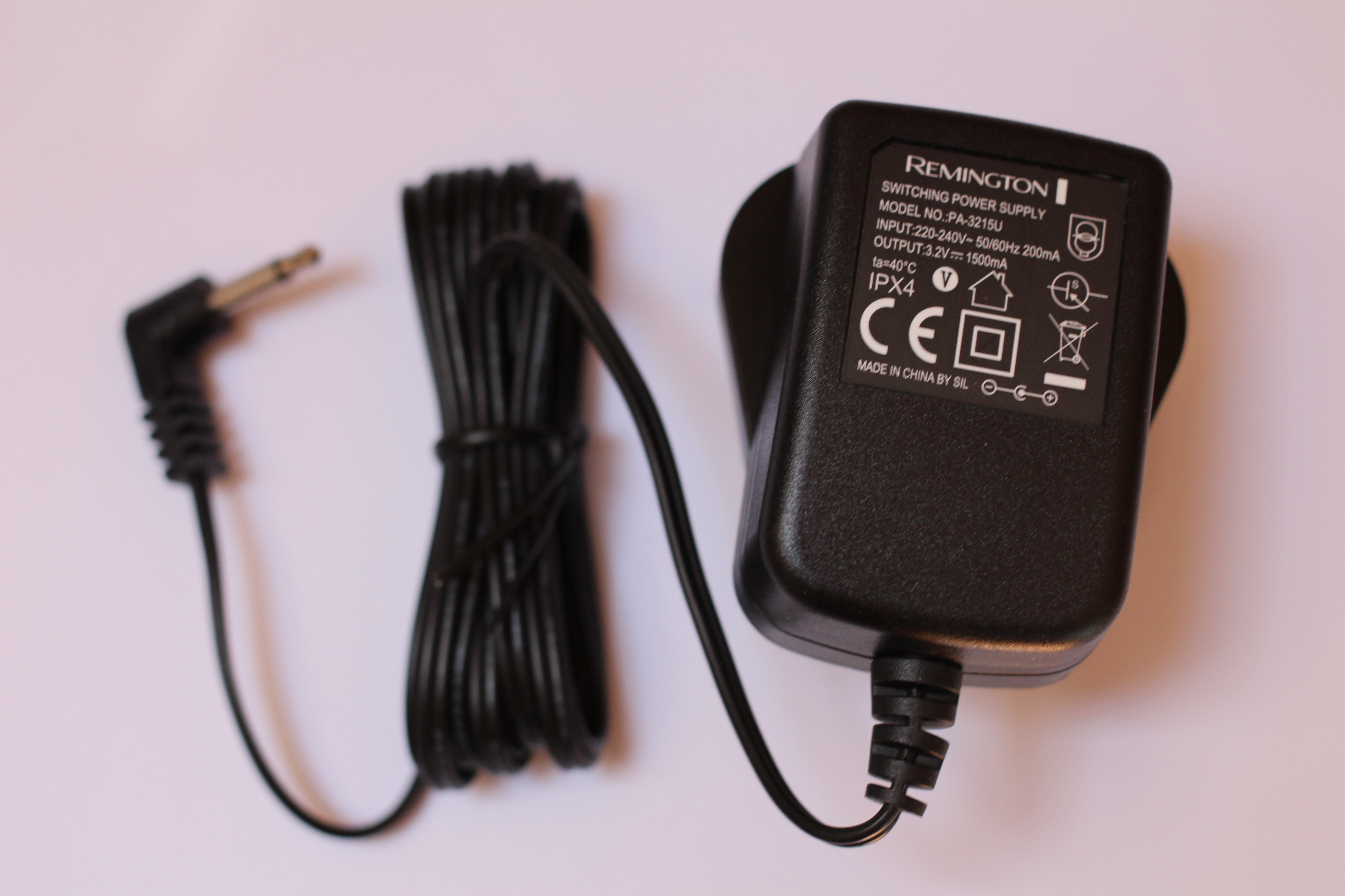 Remington MB310 MB320 MB310c MB320c Beard Trimmer Mains Charger