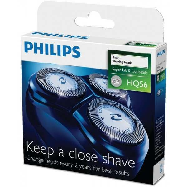 Philips Philishave HQ56/50 Triple Pack Rotary Cutting Heads