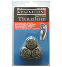 Remington SP19 FastTrack Titanium 3x Rotary Cutting Head