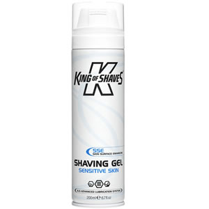 King of Shaves Azor Shave Sensitive Skin 200ml Can Shaving Gel