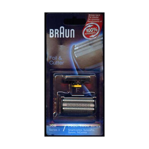 Braun 30B   4000/7000 Series Tri Control Foil and Cutter Blade