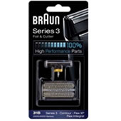 Braun 505 31b Flex Integral Black Foil & Cutter Set