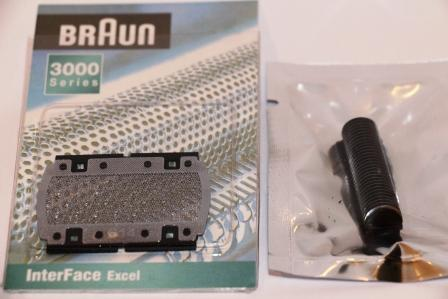 Braun Model 614 Shaver Foil & Cutter Pack