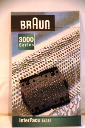 5S foil screen for BRAUN Travel Twist  Shavers
