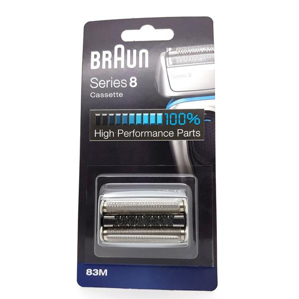 Braun 83M Series 8 Matt Silver Foil & Cutter Pack