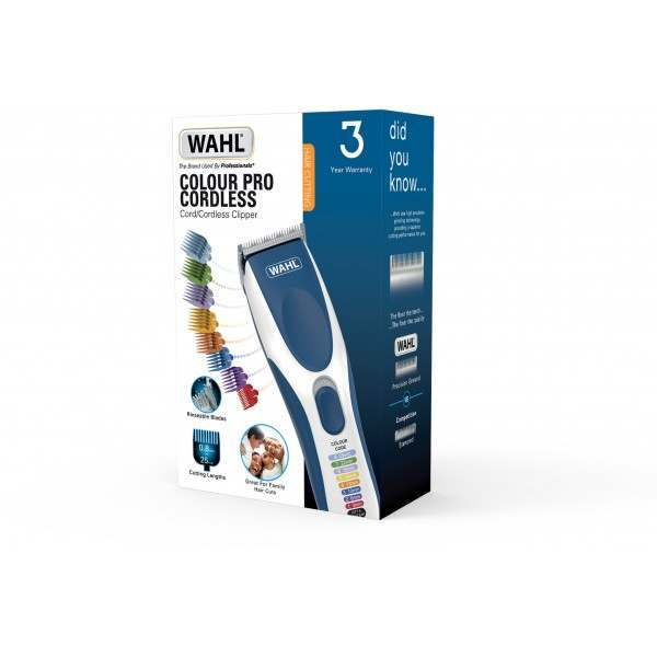 Wahl 9649-017 Colour Pro Cordless Hair Clipper