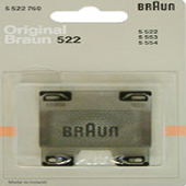 Replacement foil 522 for Braun for 200, 252, 254,