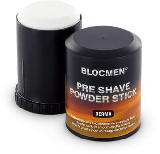 Pre Shave powder block Derma Sensitive Skin