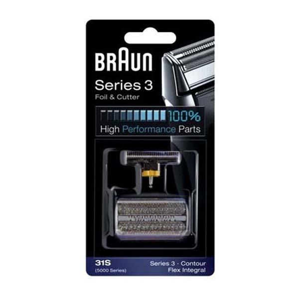 BRAUN 5000/Series 3 Foil & cutter pack 31S - Silver