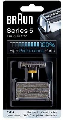 Braun 89xx 360 Complete Foil & Cutter Pack 51S