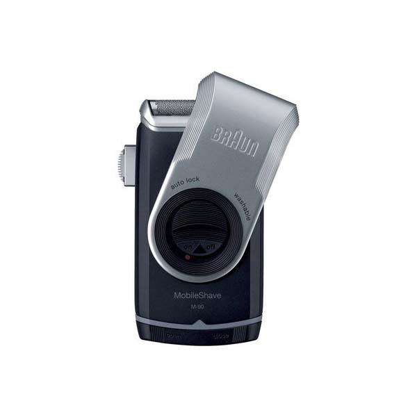 Braun M90B Travel with trimmer Battery Shaver