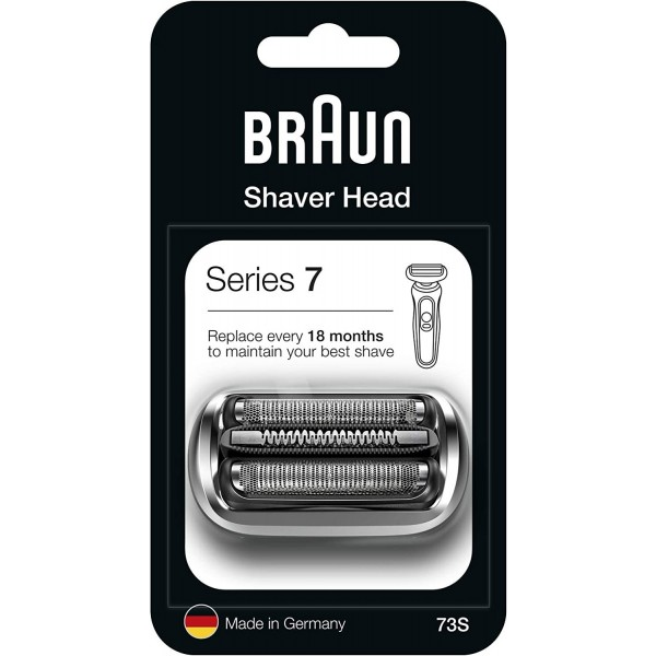 Braun 73S Silver Cassette Foil and Cutter Pack
