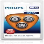Philips Philishave HQ177 Coolskin Three Pack Round Cutting Blades
