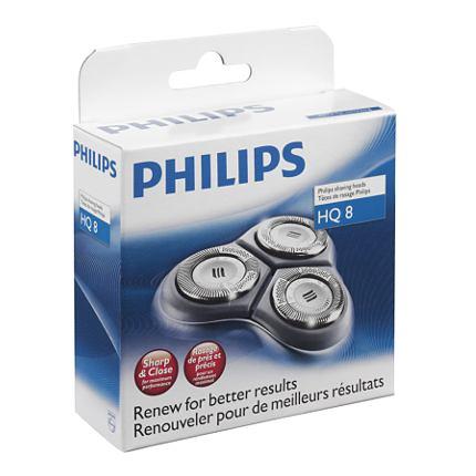 Philips Philishave HQ8 Sensotec Rotary Cutting Heads