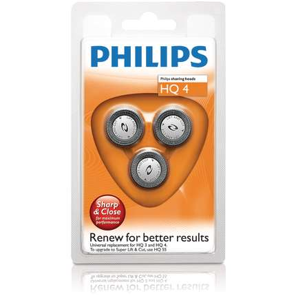Replacement foil and cutter for select PhiliShave HQ4