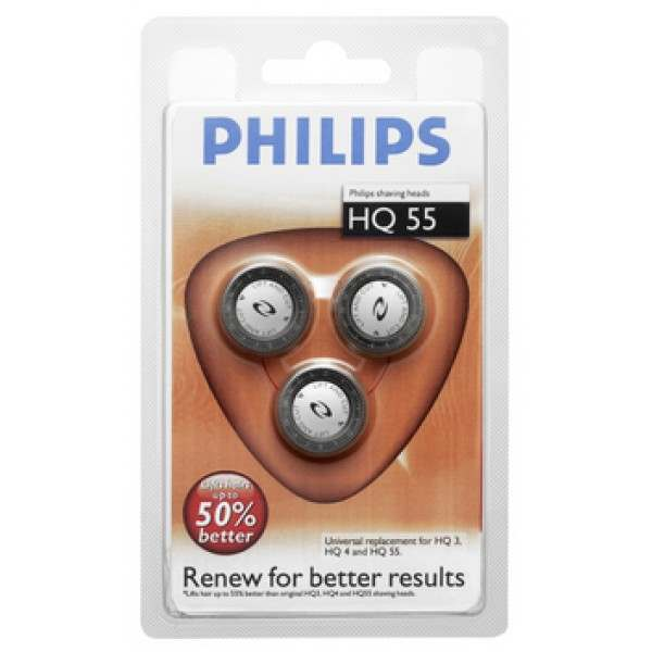 Philips HQ55 models for HQ6859, HQ6849,6605,6868