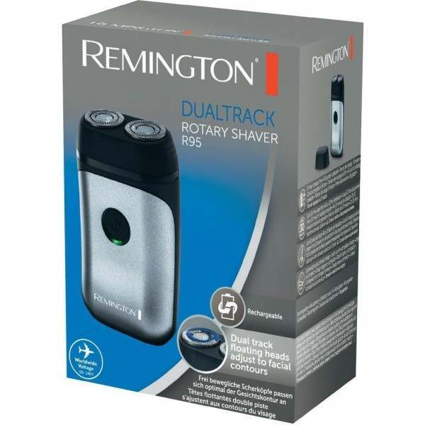 Remington R95 Dual Track 2 Head Rotary Shaver