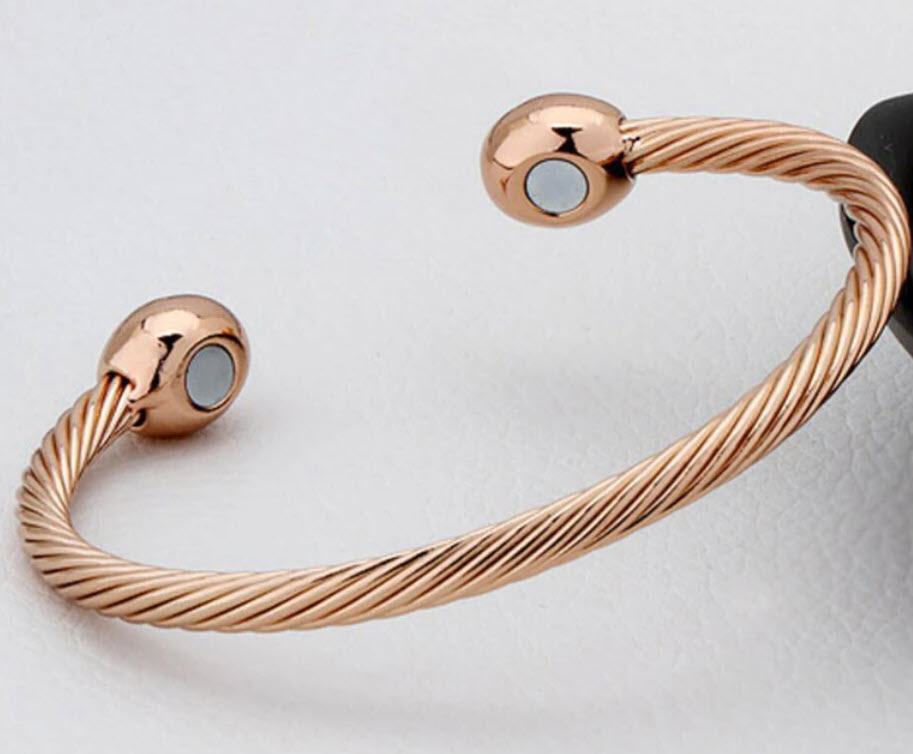 Rope Magnetic Pure Copper Bracelet