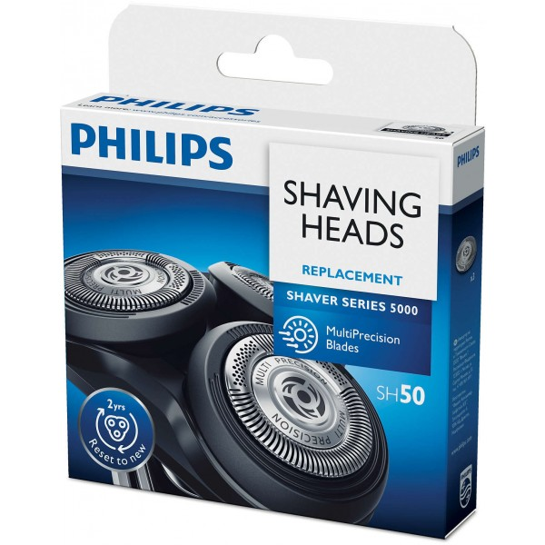 Philips SH50/50 6000, 5000 Series 3 x Rotary Cutting Head