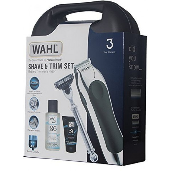 Wahl Complete ZX847-800Y Shave and Trim Gift Set