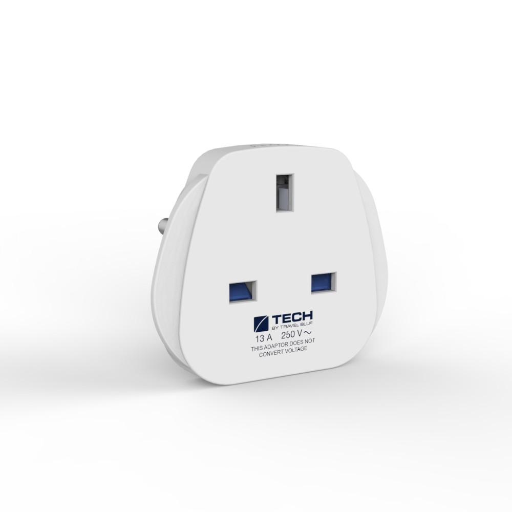 Travel Blue European Travel Plug Adaptor Socket
